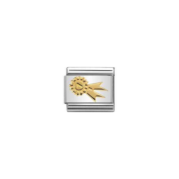 Nomination Ladies Charm Link (030149_24) - Rosette-Image 1